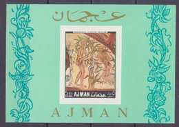 1968Ajman228/B43bPainting - Autres