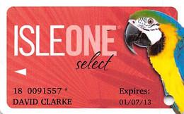 Isle Of Capri Casino Multi-Locations - IsleOne Player Slot Card @2011 - Casino Cards