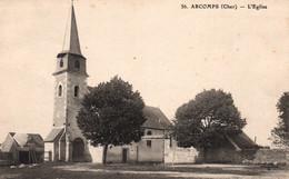 Arcomps (Cher) L'Eglise - Edition P.D.S. Carte N° 56 - Sonstige Gemeinden