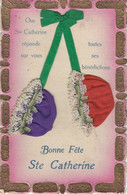 STE CATHERINE - TOP CPA - Coiffe Bonnet En Tissu + Dentelle - Saint-Catherine's Day