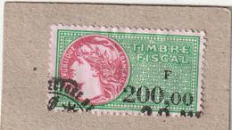 T.F.S.U N°425 - Revenue Stamps