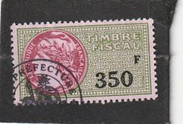 T.F.S.U N°481 - Revenue Stamps