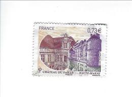 Série Touristique Château Du Pailly 5120 Oblitéré 2017 - Used Stamps