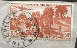Timbre AEF Gabon Belle Obliteration Libbeville - Used Stamps