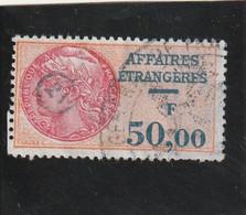 T.F.Affaires Etrangères N°38 - Revenue Stamps