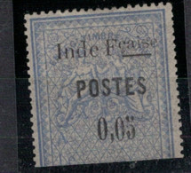 INDE          N°  YVERT  24  NEUF AVEC CHARNIERE  ( CH 4 / 20 ) - Unused Stamps
