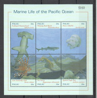 PK100 PALAU FISH & MARINE LIFE OF THE PACIFIC OCEAN 1KB MNH - Vie Marine
