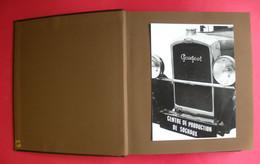 Album Rare évolution Usine Peugeot Sochaux De L'Origine à 1983 & Lettre Dédicacée André Malcuit 215 Photos 23 Documents - Automobiles