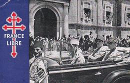 Let312 FFRANCE LIBRE De Gaulle Et Le Général Catroux Visitent Beyrouth - Personen