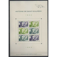 Bloc ST Exupéry 40000 Exemplaires - Used Stamps