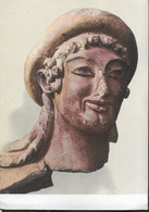 HERMES IN TERRACOTTA DIPINTA - VEIO - ROMA MUSEO VILLA GIULIA - NUOVA - Objetos De Arte