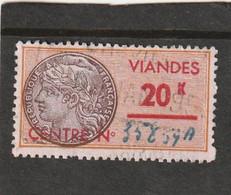 T.F Viandes N°4 - Revenue Stamps