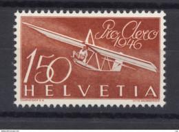 0ch  1323  -  Suisse  -  Avion  :   Yv  40  Mi  470  * - Ongebruikt