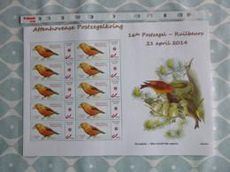 BELG.2014 : DUOSTAMP** / MY STAMP** - Oiseaux / Vogels / Vögel / Birds - Kruisbek/Bec Croisé Des Sapins- BUZIN - 1985-.. Oiseaux (Buzin)