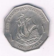 1 DOLLAR 1995  EAST CARIBBEAN STATES ANTILLEN /5550/ - West Indies
