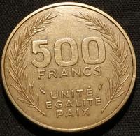 DJIBOUTI - 500 FRANCS 1989 - KM 27 - Dschibuti