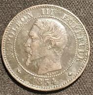 FRANCE - 2 CENTIMES 1854 BB - Napoléon III - Tête Nue - Gad 103 - KM 776.3 - B. 2 Centimes