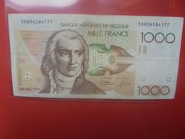 BELGIQUE 1000 Francs 1981-1997 Circuler - 1000 Francs
