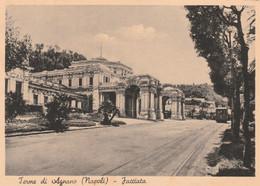 Cartolina - Postcard / Viaggiata - Sent /  Napoli - Terme Di Agnano, Facciata. ( Gran Formato ) - Napoli