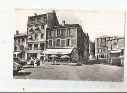 SAINT AGREVE (ARDECHE) 4 ALT 1050 M CARTE PHOTO PLACE DE LA REPUBLIQUE (CAFE ROCHE ET RESTAURANT HOTEL DES CEVENNES) - Saint Agrève