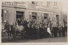 CARTE PHOTO - SINZHEIM - BADEN (ALLEMAGNE) - GASTHAUS ZUR GOLDENEN SONNE - Other