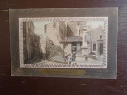 """Carte Assez Rare De 1912, Souvenir De Salon , Place De La Révolution """""""" Carte Animée """""""" - Salon De Provence"""