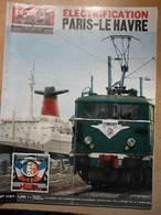 Vie Du Rail 1127 1968 Paquebot France Port Le Havre Triage Rouen Wagon Restaurant St Anton - Trains