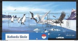 Groënland 2017, Bloc F738 Oblitéré Oiseaux - Blocks & Kleinbögen