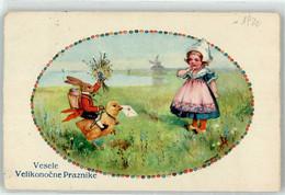 52923500 - Osterhase Personifiziert Kind Windmuehle - Pasen