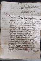 Ardèche  Satillieu 1614 - Manoscritti