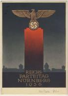 Nazismo - Norimberga Congresso Del Partito Con Francobolli Emessi Per L'avvenimento - Vedi Descrizione (2 Images) - Patriotiques