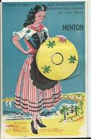 MENTON - CARTE SYSTÈME -multi-vues - Menton