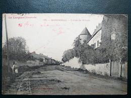 54 , Manonville ,l'entrée Du Village En 1909 - Otros Municipios