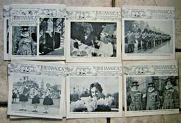 Lot De 11 Revue En Anglais BRITANNICA November 1964 A May 1966 Wilson Collège - Cultural