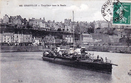 50 - Manche - GRANVILLE - Torpilleur Dans Le Bassin - Granville
