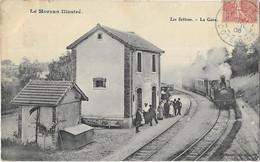 Le Morvan Illustré - Les SETTONS: La Gare - édit Meunier - Other Municipalities