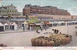 1850186Scheveningen, Grand Hotel Garni V.h. Strand Gezien. (zie Hoeken) - Scheveningen