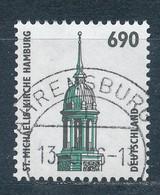 Bund 1860 R Gestempelt Mi. 9,50 - Rolstempels