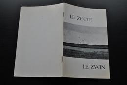 LIPPENS Léon LE ZOUTE Le ZWIN Régionalisme Faune Flore Oiseaux Tadorne Morillon Avocette Oie Cygne Réserve Naturelle - Belgio