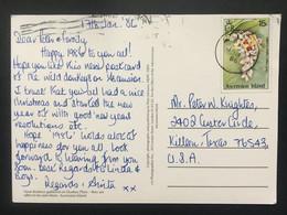 ASCENSION Postcard 1986 Sent To Killeen Texas USA - Ascension