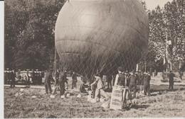 75 VISITE D ALPHONSE XIII A PARIS ( Gonflement Du Ballon ) - Other