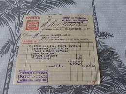 52 - Facture , BYRRH , Dépot De Toulouse , Violet Frères, 1947 - Alimentare