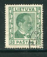 LITUANIE- Y&T N°356- Oblitéré - Litauen