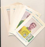 FOOTBALL BRAZIL 1950/1960 Seleção NICE SELECTION OF PC RIO DE JANEIRO OF 20.01.59 - 1950 – Brazil