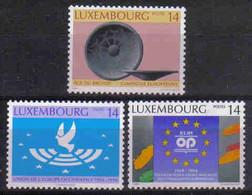 Luxemburg 1994 European Theme Y.T. 1296/1298 ** - Nuovi