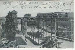 Elevated Railroad, 110th Street, Used 1907 To Switzerland - Trasporti