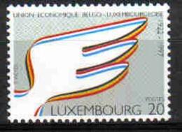 Luxemburg 1997 75th Anniv. Econ. Union With Belgium Y.T. 1367 ** - Nuovi