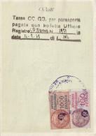 T.F.Affaires Etrangères N°13 & 16 - Revenue Stamps