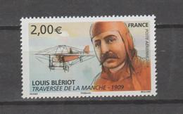 FRANCE / 2009 / Y&T PA N° 72 ** : Henri Blériot (de Feuille) X 1 - 1960-.... Mint/hinged