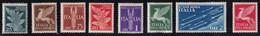 Regno D'Italia Allegorici Posta Aerea 1930 Serie Completa Sass. A18/A20 MH* Cv 5 - Neufs
